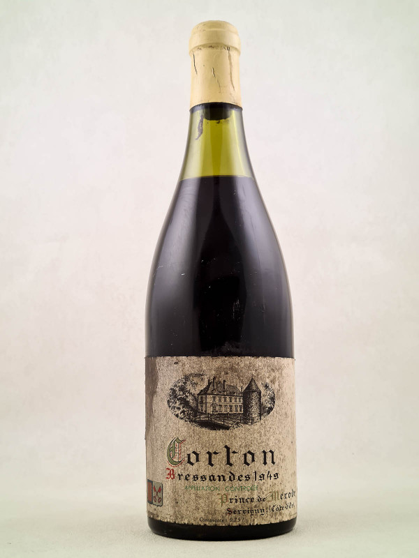 "Prince de Merode - Corton ""Bressandes"" 1949"
