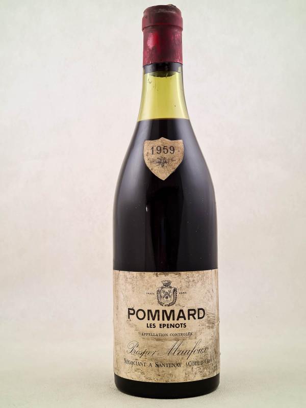 "Prosper Maufoux - Pommard 'Les Epenots"" 1959"