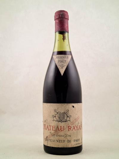 Rayas - Châteauneuf du Pape 1947