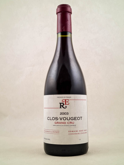 René Engel - Clos Vougeot 2003