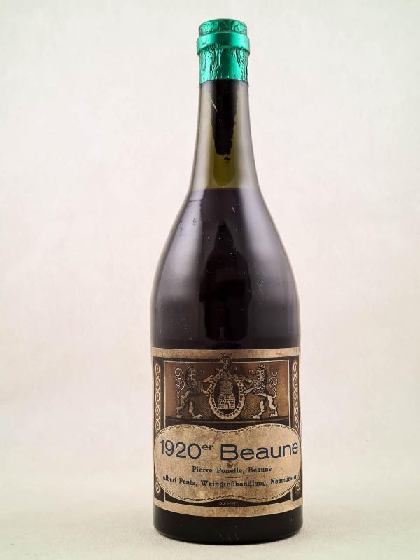 Pierre Ponelle - Beaune 1920