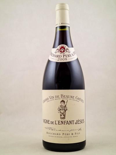 """Bouchard Père & Fils - Beaune 1er cru """"Grèves Vignes de l'Enfant Jésus"""" 2008"""