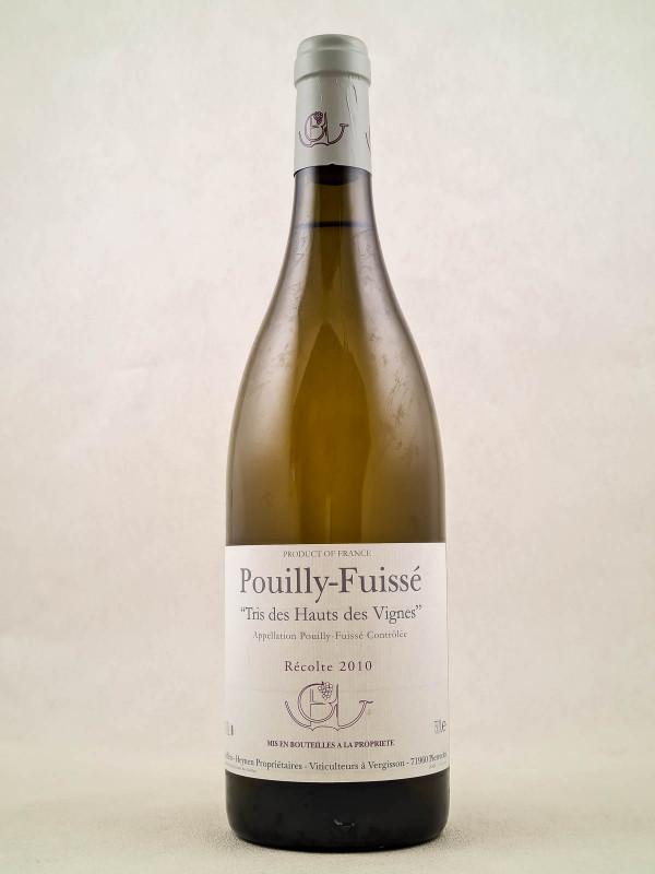 """Domaine Guffens-Heynen - Pouilly Fuissé """"Tri des hauts des vignes"""" 2010"""