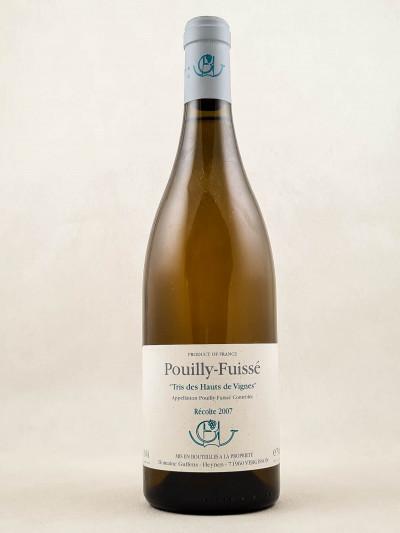 """Domaine Guffens-Heynen - Pouilly Fuissé """"Tri des hauts des vignes"""" 2007"""