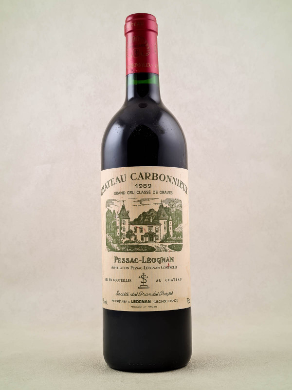 Carbonnieux - Pessac Léognan 1989