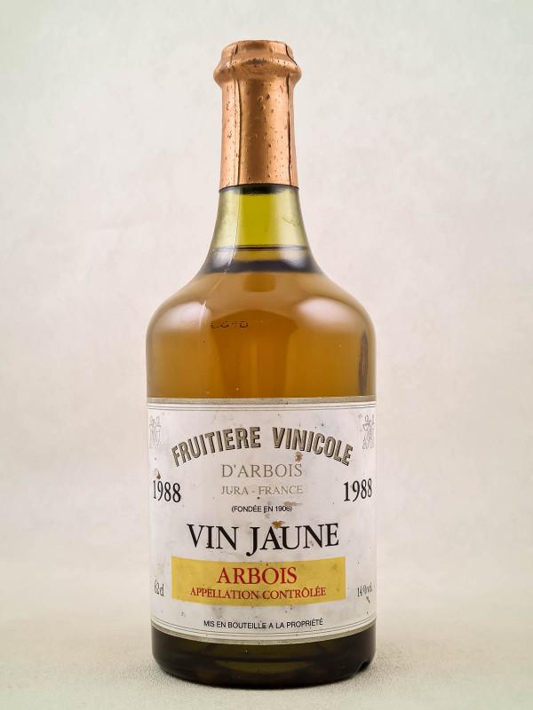 Fruitière Vinicole d'Arbois - Arbois Vin Jaune 1988