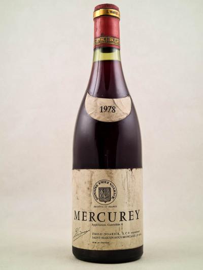 Voarick - Mercurey 1978
