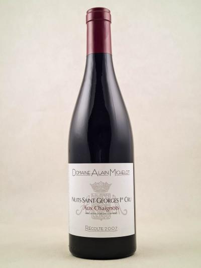 """Alain Michelot - Nuits St Georges 1er Cru """"Aux Chaignots"""" 2007"""