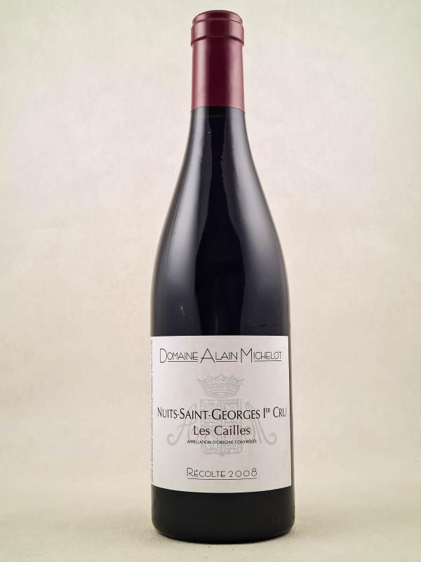 """Alain Michelot - Nuits St Georges 1er Cru """"Les Cailles"""" 2008"""