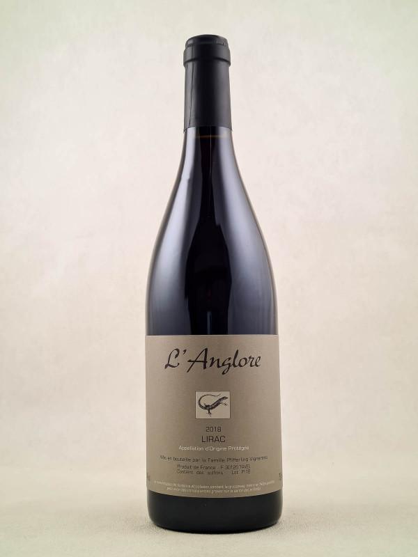 "L'Anglore - Vin de France ""Les Traverses"" 2018"