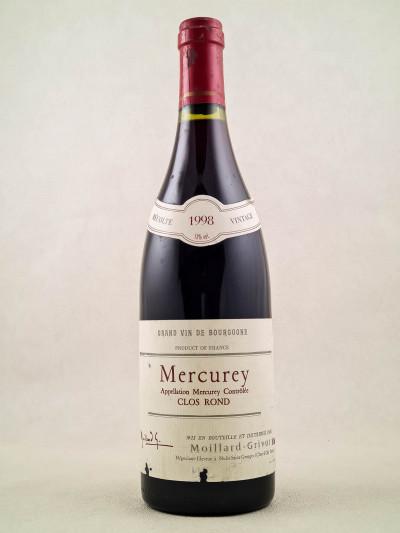 "Moillard - Mercurey ""Clos Rond"" 1998"
