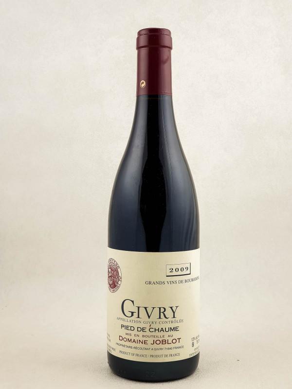 """Joblot - Givry 1er cru """"Pied de Chaume"""" 2009"""