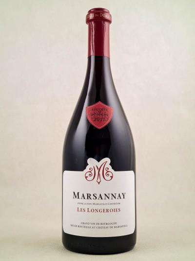 "Château de Marsannay - Marsannay ""Les Longeroies"" 2017"