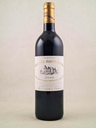 Bahans Haut Brion - Pessac Léognan 2000