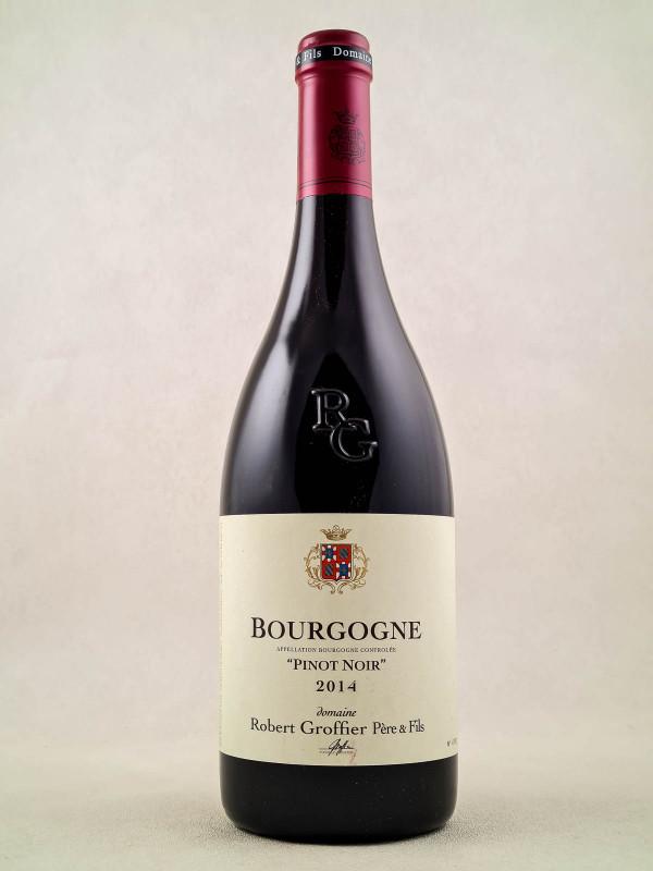 """Robert Groffier - Bourgogne """"Pinot Noir"""" 2014 MAGNUM"""
