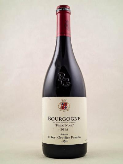 """Robert Groffier - Bourgogne """"Pinot Noir"""" 2015"""