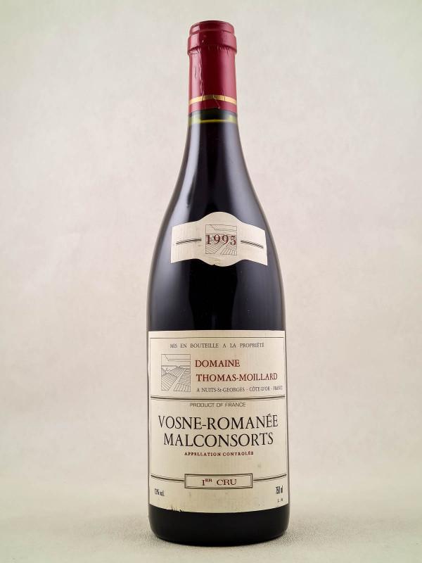 "Moillard - Vosne Romanée 1er cru ""Malconsorts"" 1995"