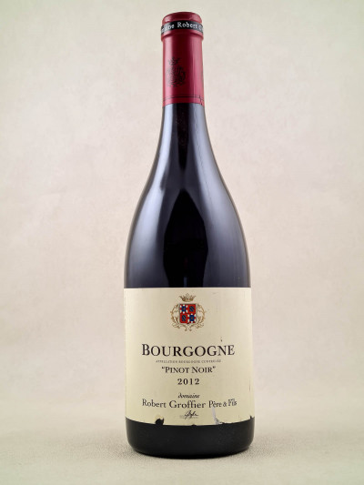 """Robert Groffier - Bourgogne """"Pinot Noir"""" 2012"""
