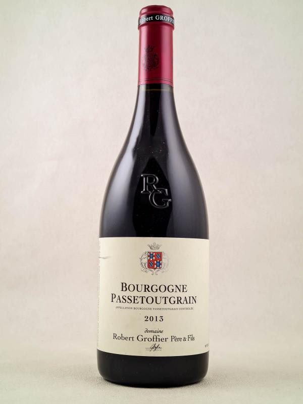 """Robert Groffier - Bourgogne """"Passetoutgrain"""" 2013"""