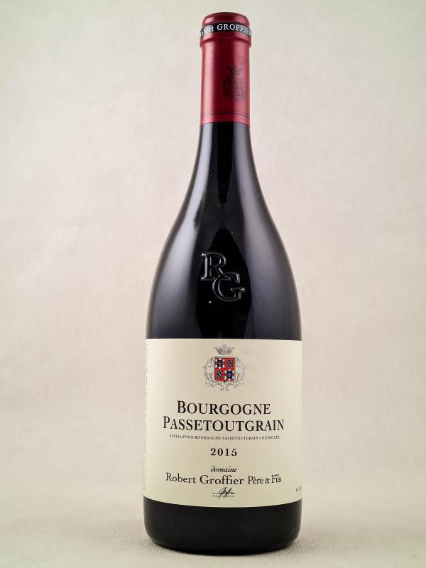 """Robert Groffier - Bourgogne """"Passetoutgrain"""" 2015"""