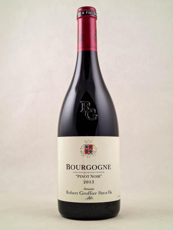 """Robert Groffier - Bourgogne """"Pinot Noir"""" 2013"""