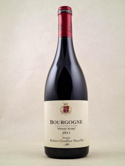 """Robert Groffier - Bourgogne """"Pinot Noir"""" 2011"""