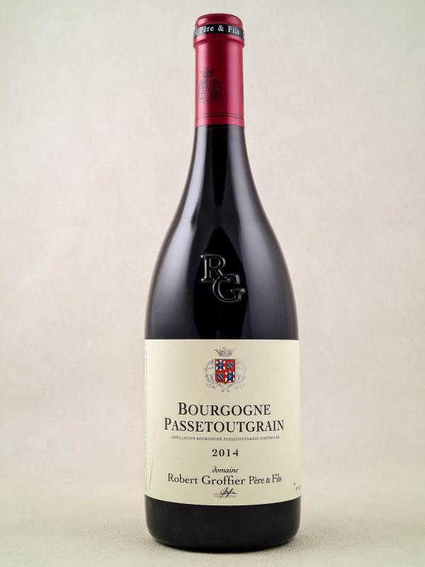 """Robert Groffier - Bourgogne """"Passetoutgrain"""" 2014"""
