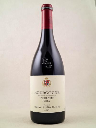 """Robert Groffier - Bourgogne """"Pinot Noir"""" 2016"""
