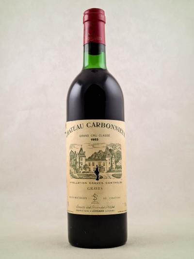Carbonnieux - Graves 1983