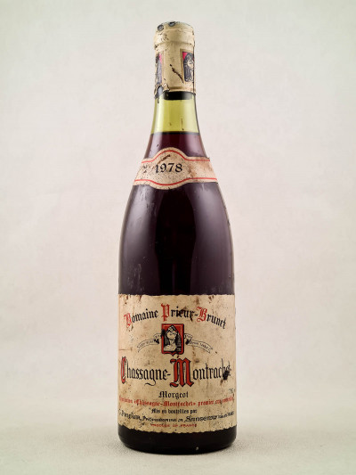 "Prieur Brunet - Chassagne Montrachet 1er cru ""Morgeot"" rouge 1978"