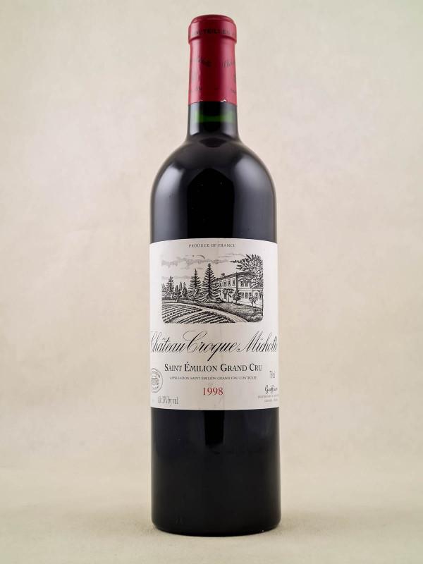 Croque Michotte - Saint Emilion 1998