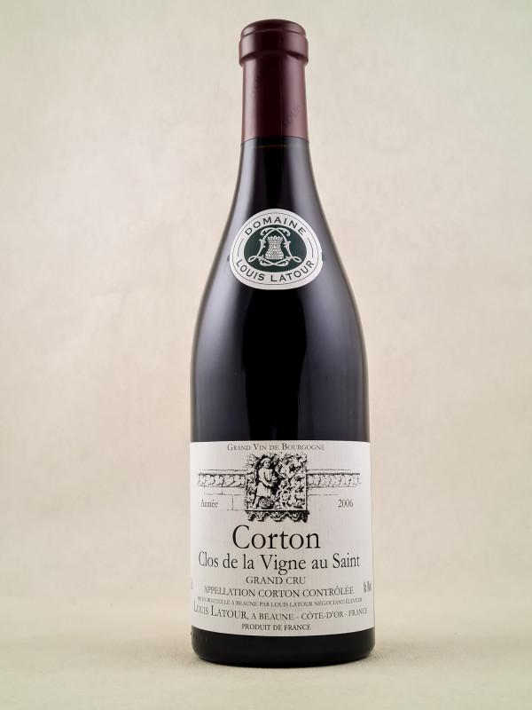 """Louis Latour - Corton """"Clos de la Vigne au Saint"""" 2006"""