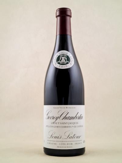 "Louis Latour - Gevrey Chambertin ""Lavaut Saint-Jacques"" 2010"