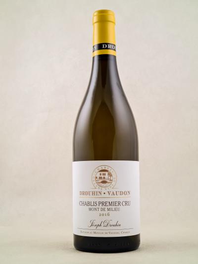 """Drouhin - Vaudon - Chablis 1er Cru """"Mont de Milieu"""" 2016"""