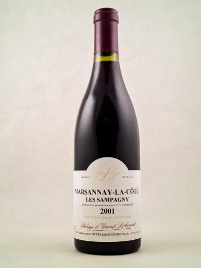 """Lécheneaut - Marsannay-la-Côte """"Les Sampagny"""" 2001"""