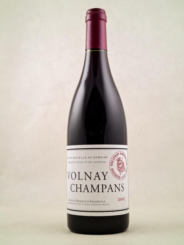 "Marquis d'Angerville - Volnay 1er cru ""Champans"" 2005"