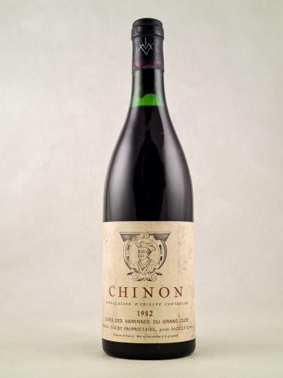 """Charles Joguet - Chinon """"Clos de la Dioterie"""" 1982"""