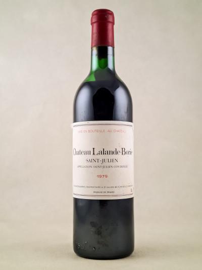 Lalande Borie - Saint Julien 1979