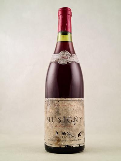 Clair Dau - Musigny 1983