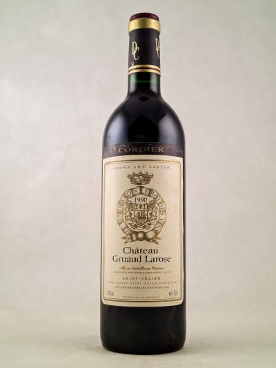Gruaud Larose - Saint Julien 1990