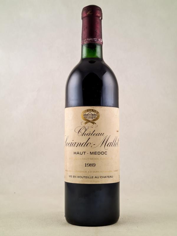 Sociando Mallet - Haut Médoc 1989