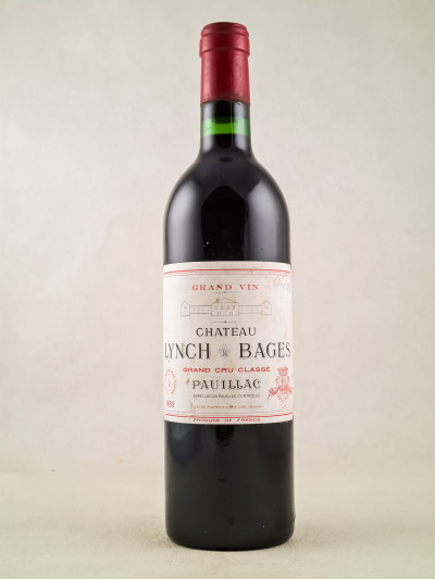 Lynch Bages - Pauillac 1980