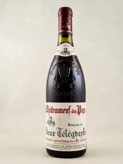 Vieux Télégraphe - Châteauneuf du Pape 1985