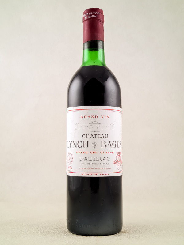 Lynch Bages - Pauillac 1978
