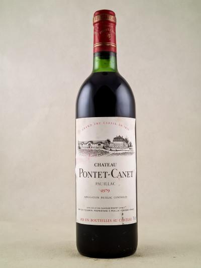 Pontet Canet - Pauillac 1979
