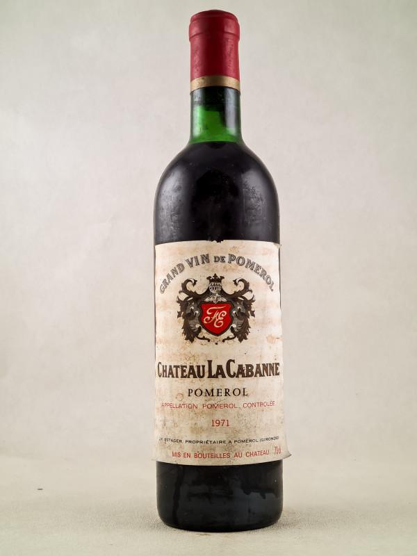 La Cabanne - Pomerol 1971