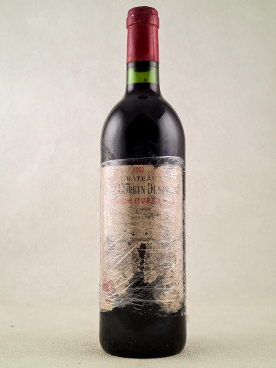 Grand Corbin Despagne - Saint Emilion 1982