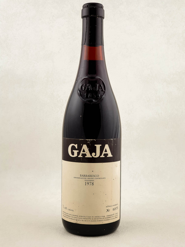 Gaja - Barbaresco 1978