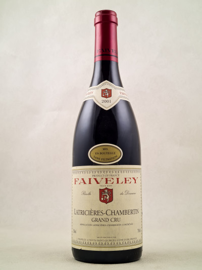 Faiveley - Latricières Chambertin 2001