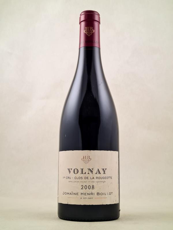 """Henri Boillot - Volnay 1er cru """"Clos de la Rougeotte"""" 2008"""